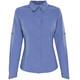 Columbia Silver Ridge - Camiseta de manga larga Mujer - azul